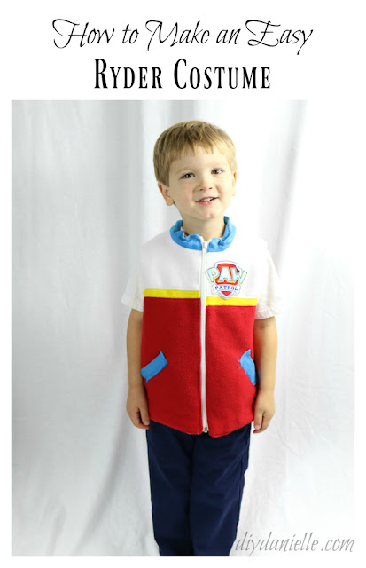 The easiest Paw Patrol costume idea: Ryder!