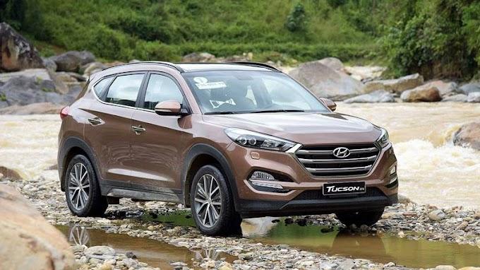 Hyundai Tucson 2021. Đỏ mận. Mới 98%