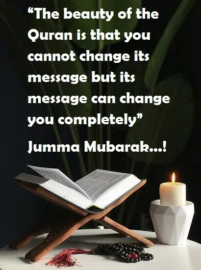 You cannot change message of holy Quran