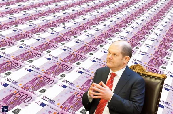 Bundesfinanzminister Olaf Scholz, der falsche Mann für die Corona-Krise
