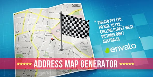 Videohive Map 18227432