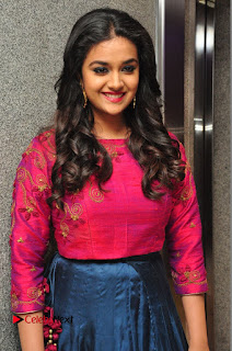 Actress Keerthi Suresh Stills at Remo Success Meet  0027.JPG