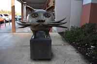 Cat by Dean Bowen   Public Art in Wyndham Vale