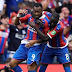 JORDAN AYEW HAS BEEN NAMED  CRYSTAL PALACE'S PLAYER OF THE MONTH FOR AUGUST .