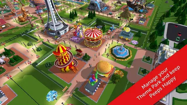 RollerCoaster Tycoon Touch Hack Apk