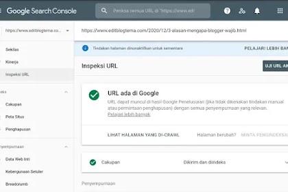 HALAMAN KANONIS BEDA INDEX DESKTOP DENGAN INDEX MOBILE DI WEBMASTER