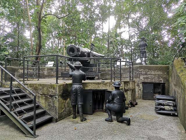拉柏多炮台是英军为捍卫新加坡水域而建造