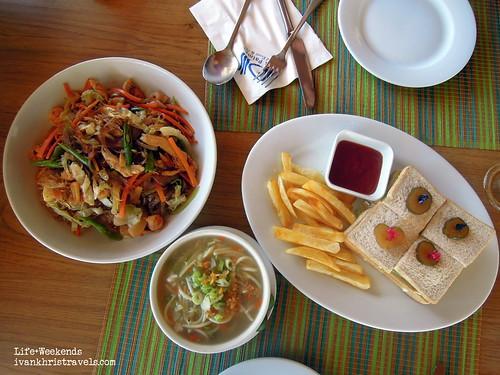 Snacks at Dos Palmas Island Resort and Spa