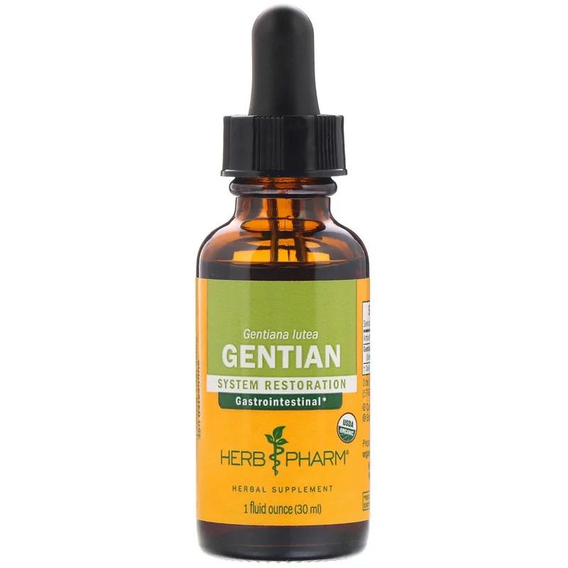 Herb Pharm, Gentian, 1 fl oz (30 ml)