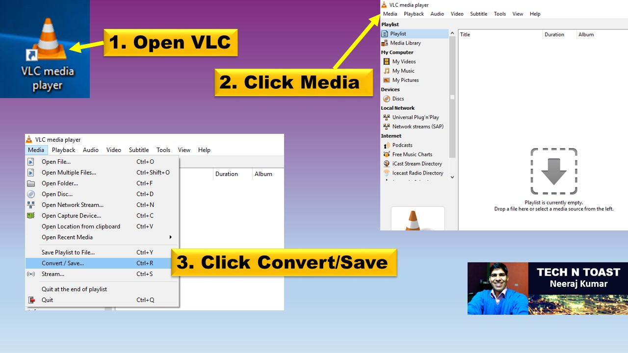 How to Convert Video Using VLC