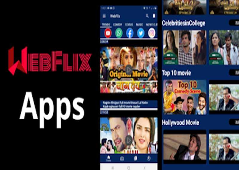 Webflix App क्या है, Webflix में Free Movie और TV कैसे देखे