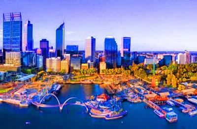 Tempat menarik di Perth Australia
