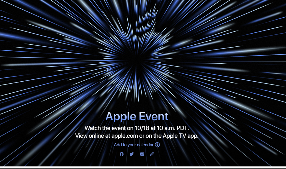 Apple announces 'Unleashed' special event for October 18, New MacBook Pros expected