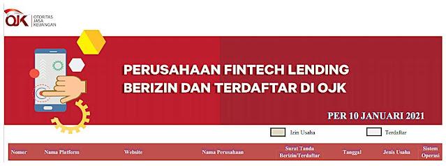 Aplikasi Pinjaman Online Terpercaya OJK