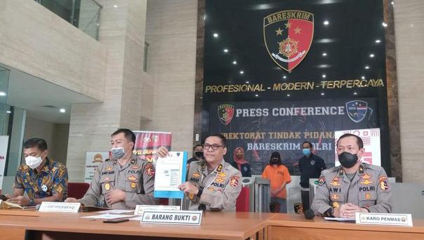 Diduga Sebar Hoax Omnibus Law, Polri Tangkap Pemilik Akun @videlyae