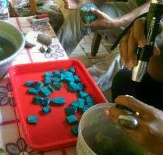 cara memilih bahan batu bacan