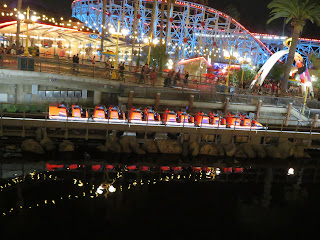 Incredicoaster Launch Pixar Pier at Night