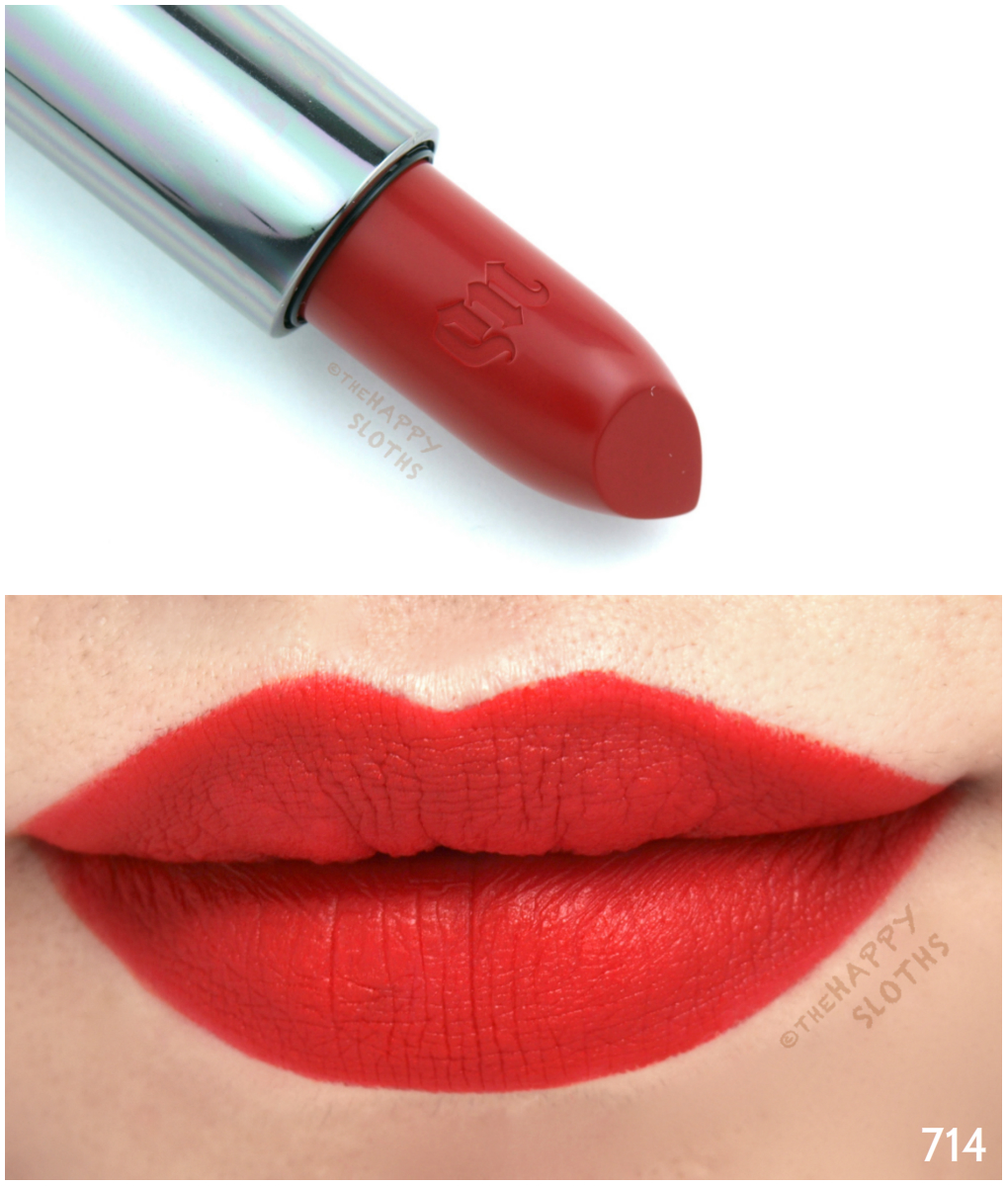 Urban Decay Vice Lipstick Review And Swatches The Happy