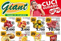 Katalog Promo Giant Awal Pekan Terbaru 22 - 25 Juli 2019