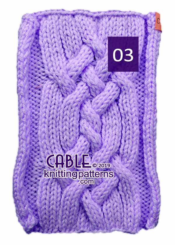 Cable Knitting Pattern 03