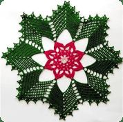 Tapete Estrella a Crochet