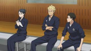 ハイキュー!! アニメ 2期18話 | HAIKYU!! Karasuno vs Wakutani minami