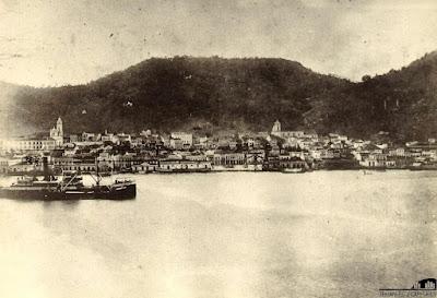 Baía de Vitória, 1910.