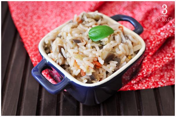 arroz berinjela