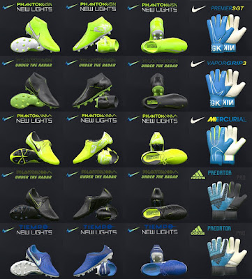 PES 2017 Nike New lights & Under Radar Pack 2019 by Tisera09
