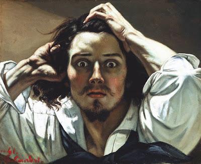Auto-retrato, Gustave Courbet