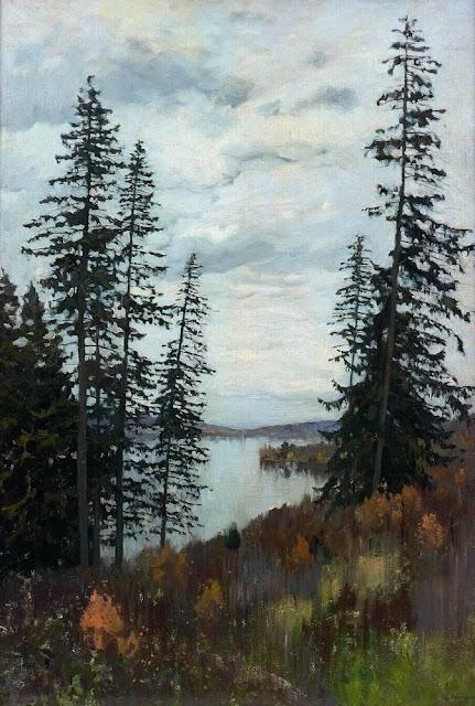 Исаак Ильич Левитан - На севере. 1896
