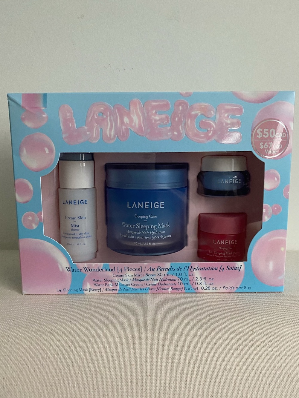 Laneige Water Wonderland