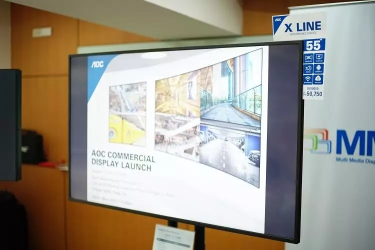 New AOC Commercial Display to Land in PH