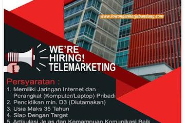 Lowongan Kerja Telemarketing Infomedia Bandung
