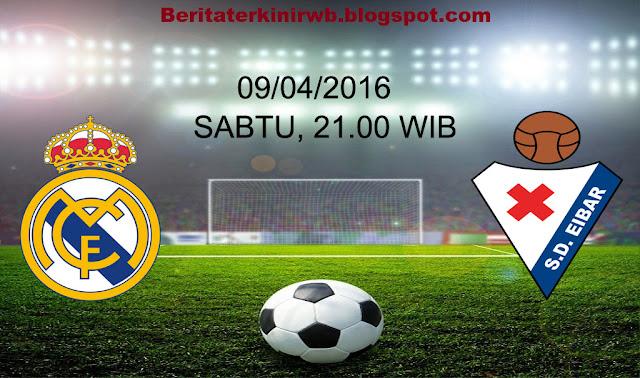 Prediksi Real Madrid vs Eibar 09/04/2016
