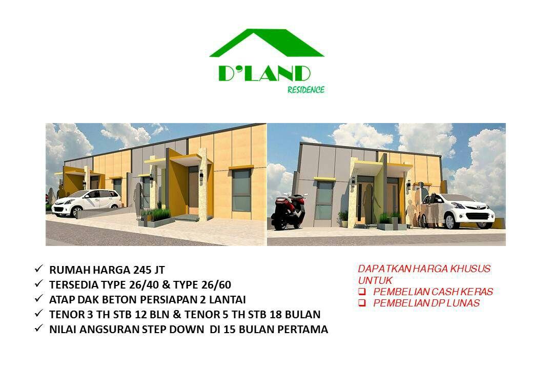 Dland Residence Cluster Syariah Murah Di Bekasi Kota