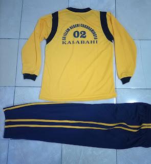 Model Kaos olahraga SD