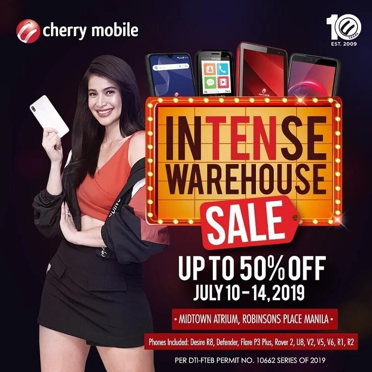 Cherry Mobile Announces Intense Warehouse Sale; Score up to 50% Off!