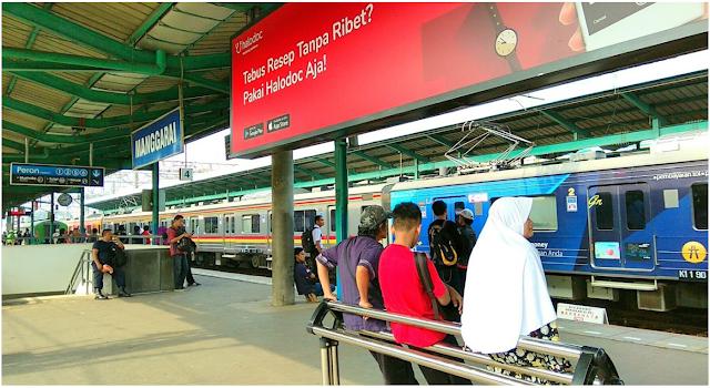 Jadwal KRL Manggarai Tujuan Tanah Abang, Duri, Angke