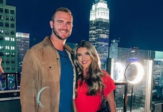 Pete Alonso And Hayley Walsh