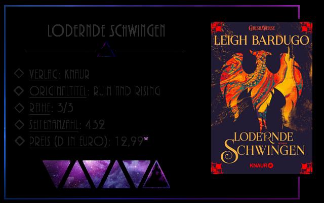 [Rezension] Loderne Schwingen - Leigh Bardugo