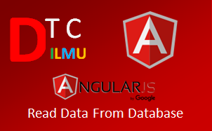 Tutorial AngularJS Read Data From Database
