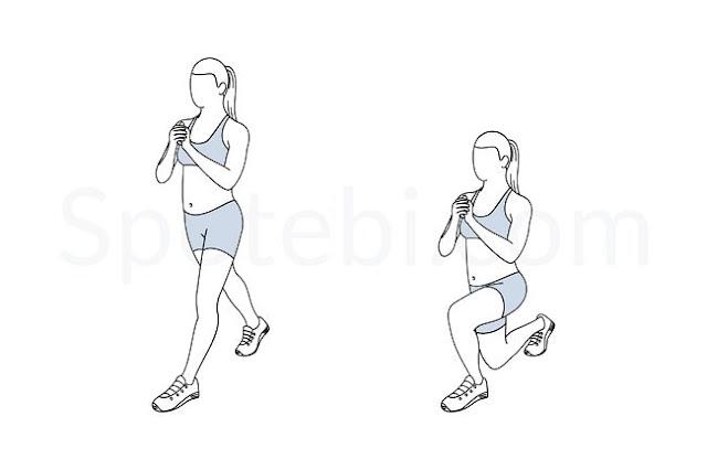 تمرين Split Squat
