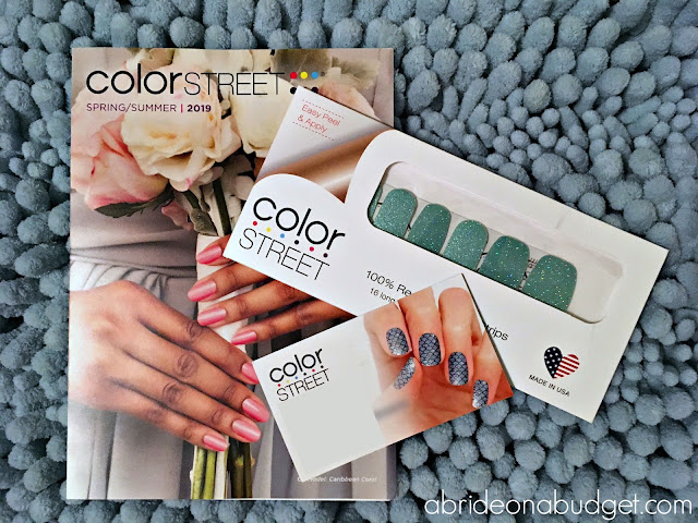 ColorStreet nail polish strips are the hot trend, but are ColorStreet nails right for your wedding? Find out at www.abrideonabudget.com.
