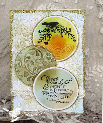 Our Daily Bread Designs, Scripture Collection 11, Bird Border and Corners