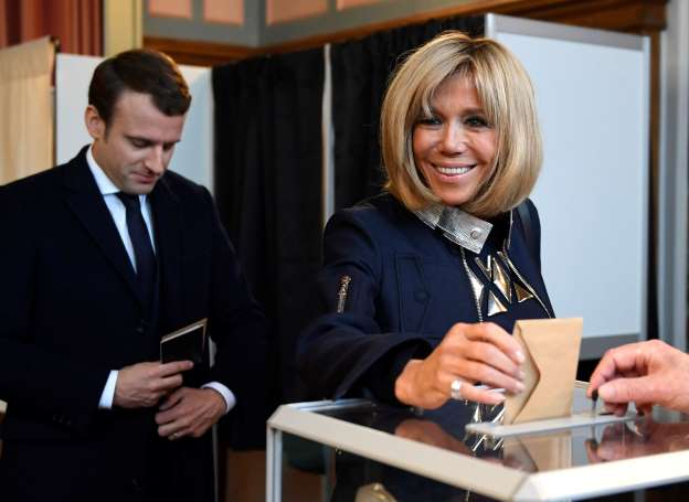 Meet France's New First Lady, Brigitte Trogneux