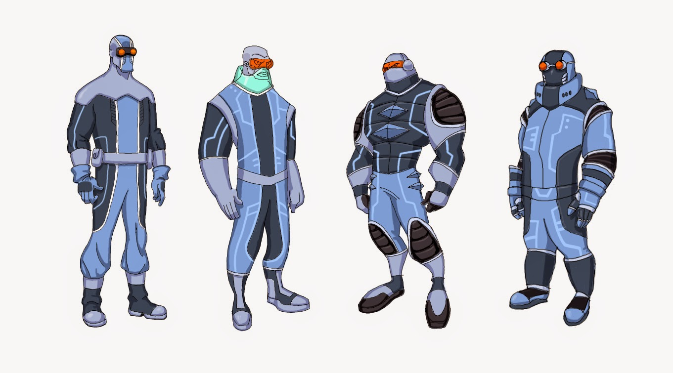 Darren Lee's Work: DC Young Justice Character Designs