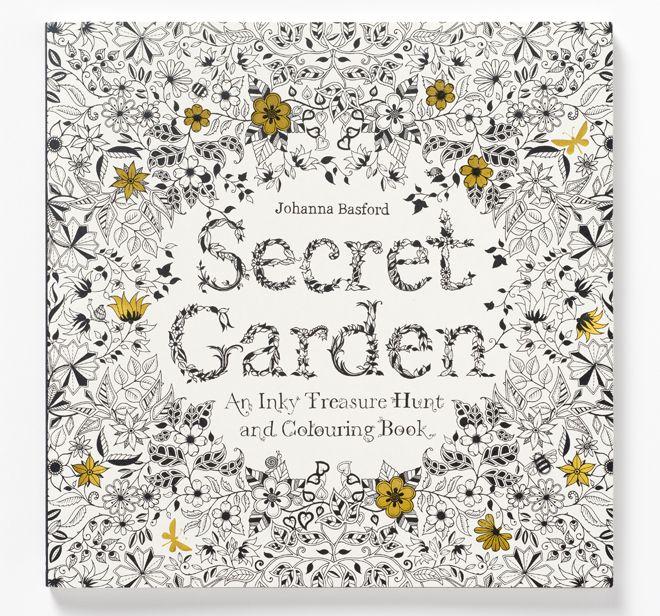 Colouring - Colour Me Good, Garden Secret & 100 Coloriages
