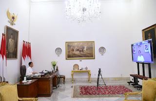 Presiden Instruksikan Langkah Padu Pusat dan Daerah Tangani Covid-19