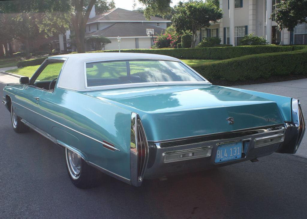 All American Classic Cars: 1971 Cadillac Coupe de Ville 2 ...